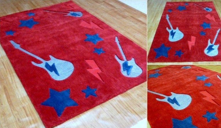 item slip navy modern blue anti kids room rug bedroom large fadfay carpets living rugs
