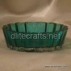 Color Glass Bowl