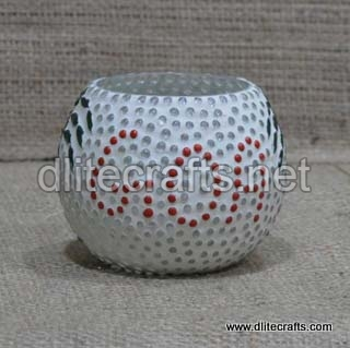 Glass Candle Goa Votive