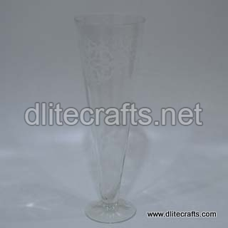 Glass Clear Cutflower Vase