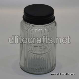 Glass Lid Jar