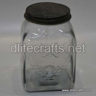 Glass Lid Press Jar