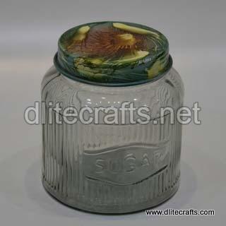 Glass Press Jar