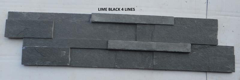 Lime Black Slate Stone