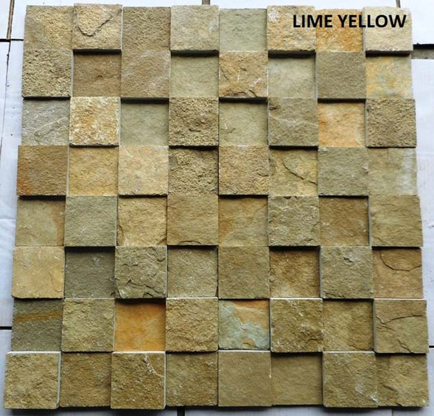 Lime Yellow Slate Stone