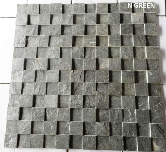 N Green Slate Stone