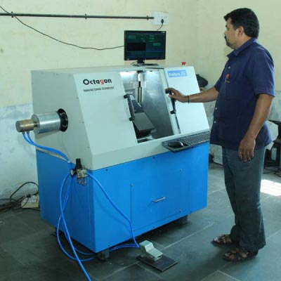 Small Parts Making CNC Lathe Machine