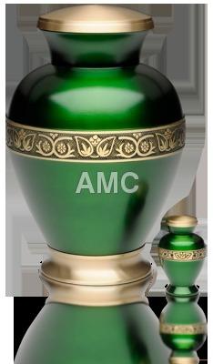 Designer Brass Urn