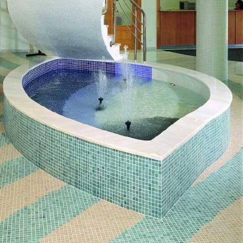 Glass Mosaic Fountain Tiles