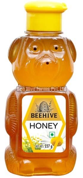Honey in 227 Gram Teddy Bear Bottle
