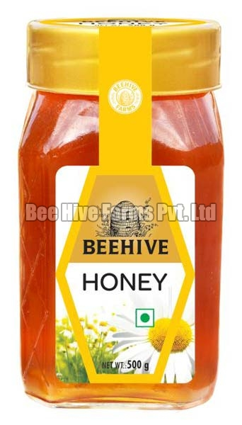 Honey in 500 Gram Square Bottel