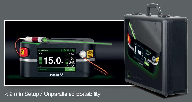 NeoV Laser System (Optimal Portability)