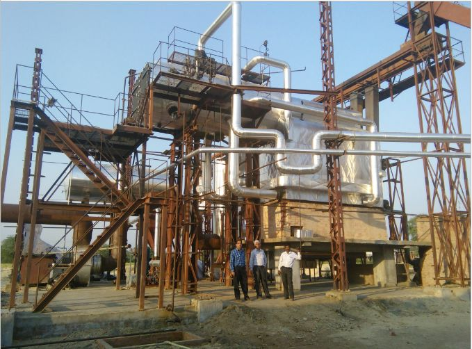 Multi Fuel Water Tube Boiler
