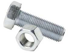 Galvanized Iron Nut and Bolt