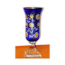 Decorative Glass Flower Vase