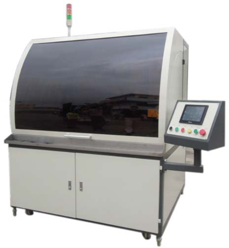 (G323-8)   Automatic 3-8 colors screen printer