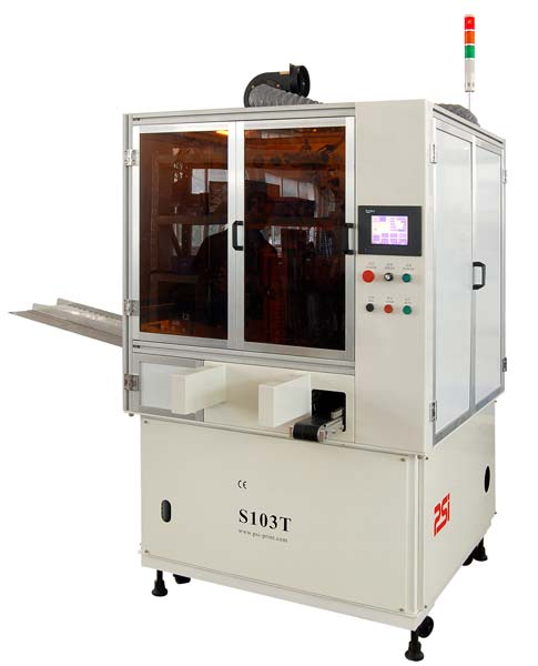 (S103T)Automatic Tubes Screen Printer