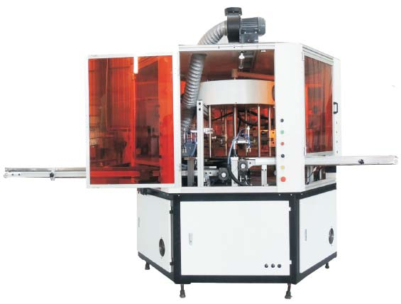 (S1H1F) flat products screen printer and hot stamping machine