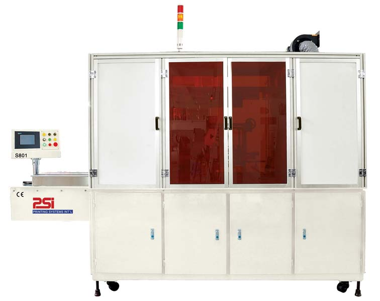 (S801) Automatic single color screen printer