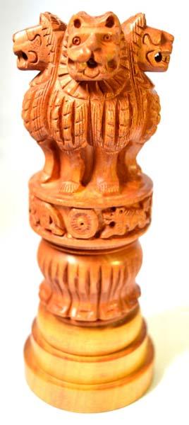 Wooden Ashoka Head 02