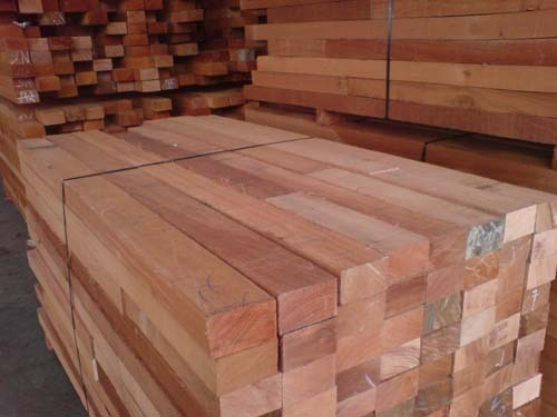 Dark Red Meranti Wood