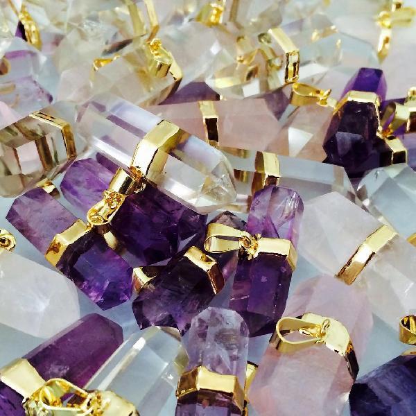Semi Precious Stone Pendant 03