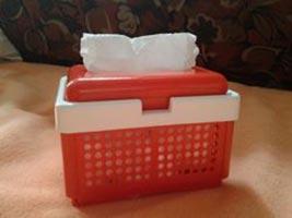 Basket Shaped Tissue Dispenser