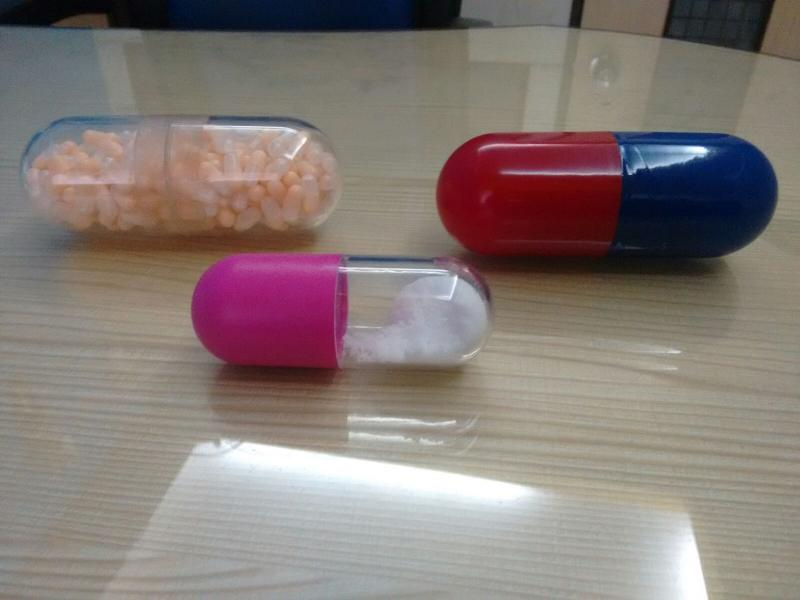 Capsule Shaped Paper Weight