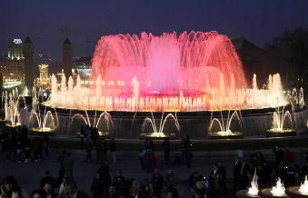 LED Musical Fountain 01