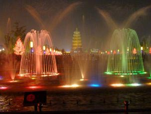 LED Musical Fountain