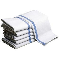 White Economy Bath Towels