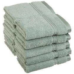 Green Hotel Face Towels