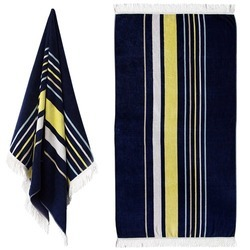 Velour Striped Hand Towels