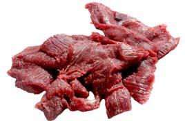Frozen Buffalo Slices