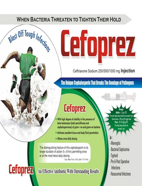 Cefoprez Injection