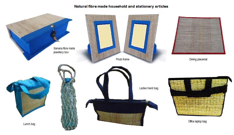 Eco friendly products banana fibre products manufacturers for Eco friendly home products
