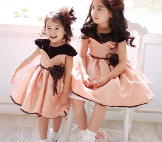 Girls Western Dress