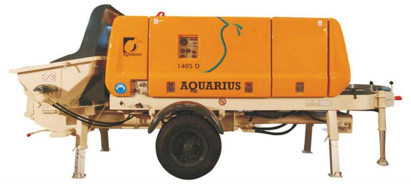 Aquarius Concrete Pump Spare Parts