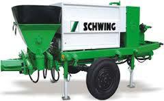 Schwing Stetter Concrete Pump Spare Parts