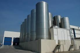 Milk Storage Silos