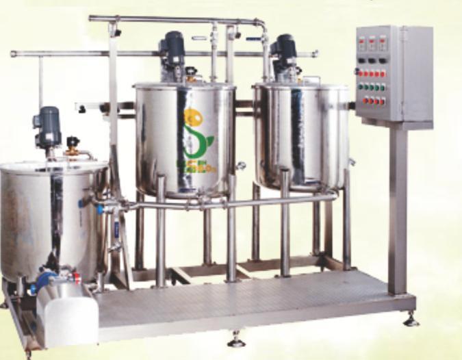 Mini Soya Milk Plant (500 Ltr /Hour)