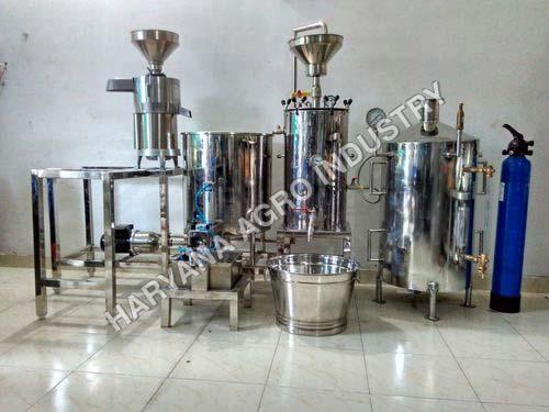 Soya Milk Making Machine 05