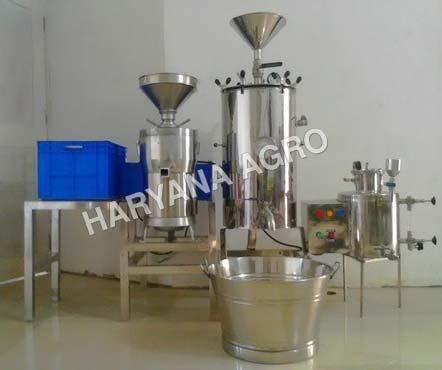 Soya Milk Making Machine 02
