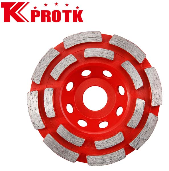 Diamond Double Row Cup Grinding Wheels
