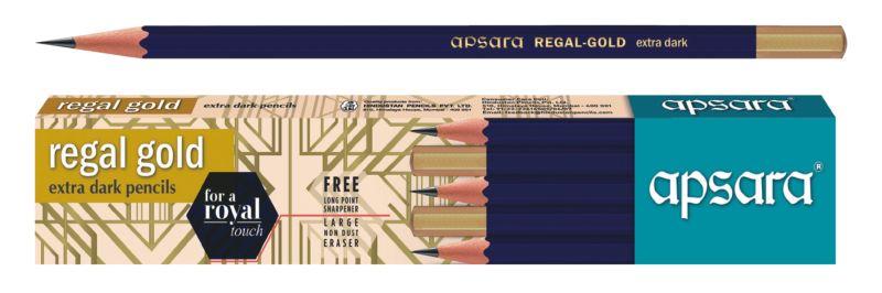 Apsara Regal Gold Pencil 02