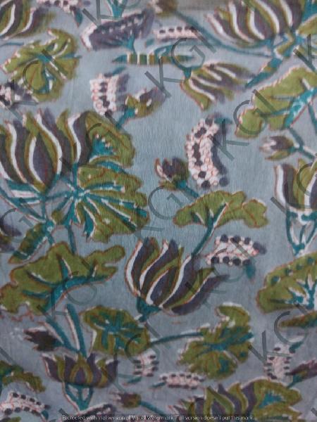 Hand Block Printed Fabric 02