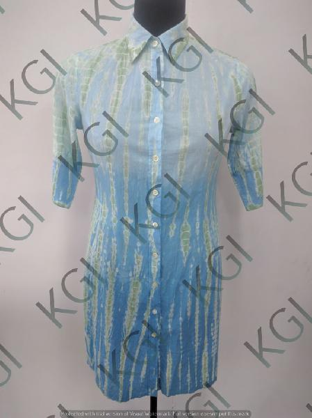 Hand Block Printed Ladies Shirts