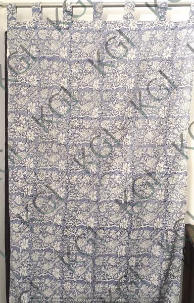 Hand Block Printed Curtain 02