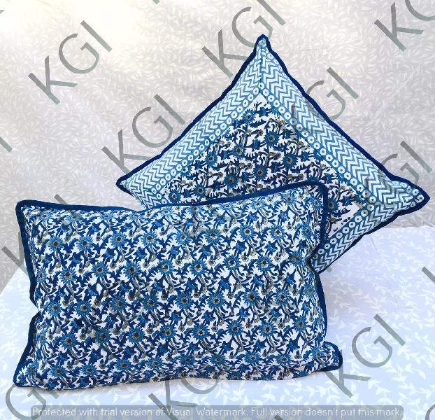 Hand Block Printed Cushion Cover 03