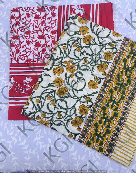 Hand Block Printed Table Cover 01